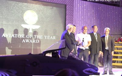 Airworks Aviation Pilot Awarded as Philippines' Flight Instructor of the Year 2015