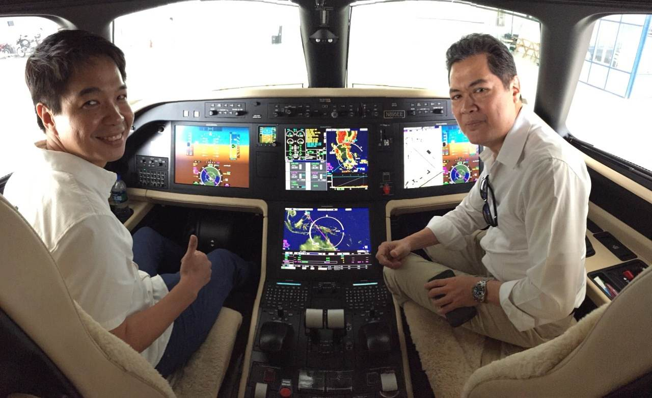 Business Aviation: The Embraer Legacy 500