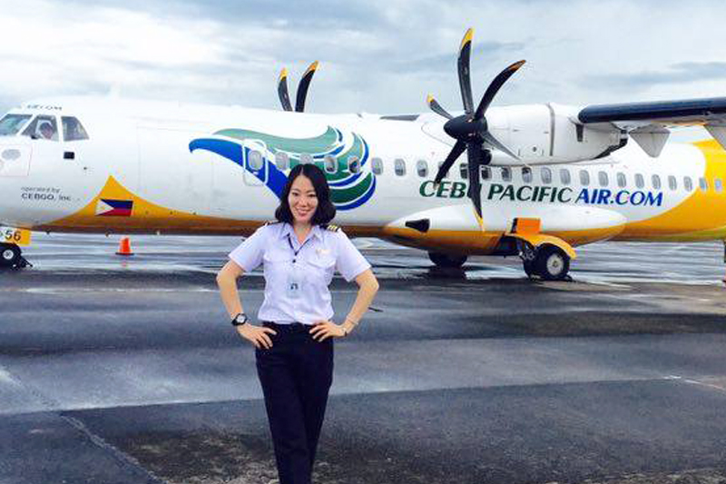 A Glimpse of a Female Pilot Career Take Off