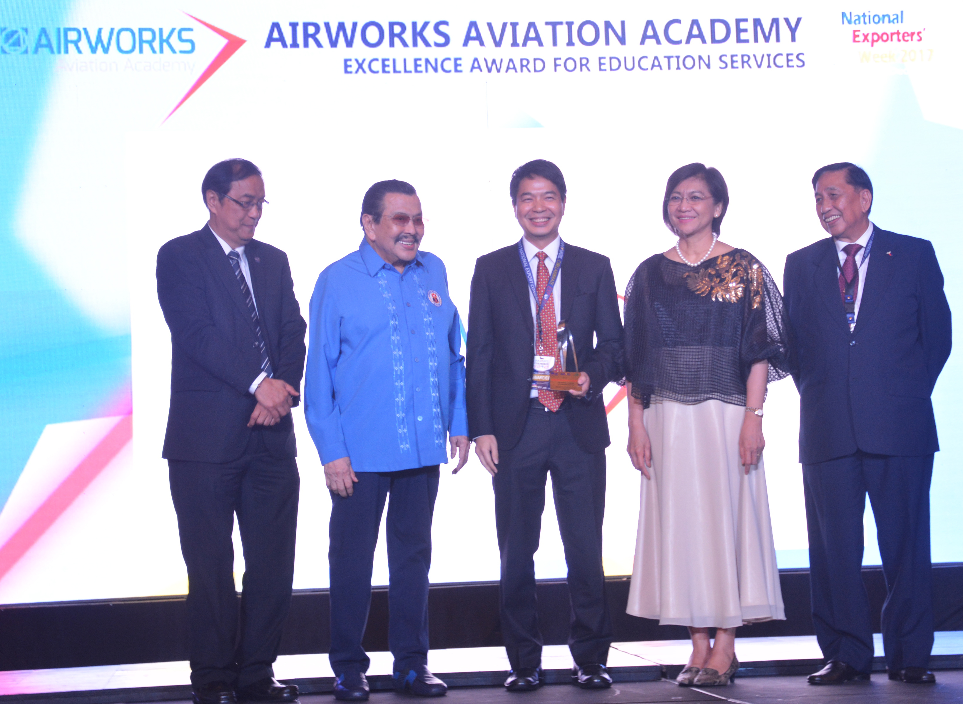 Airworks Receives Excellence Award at NEC 2017