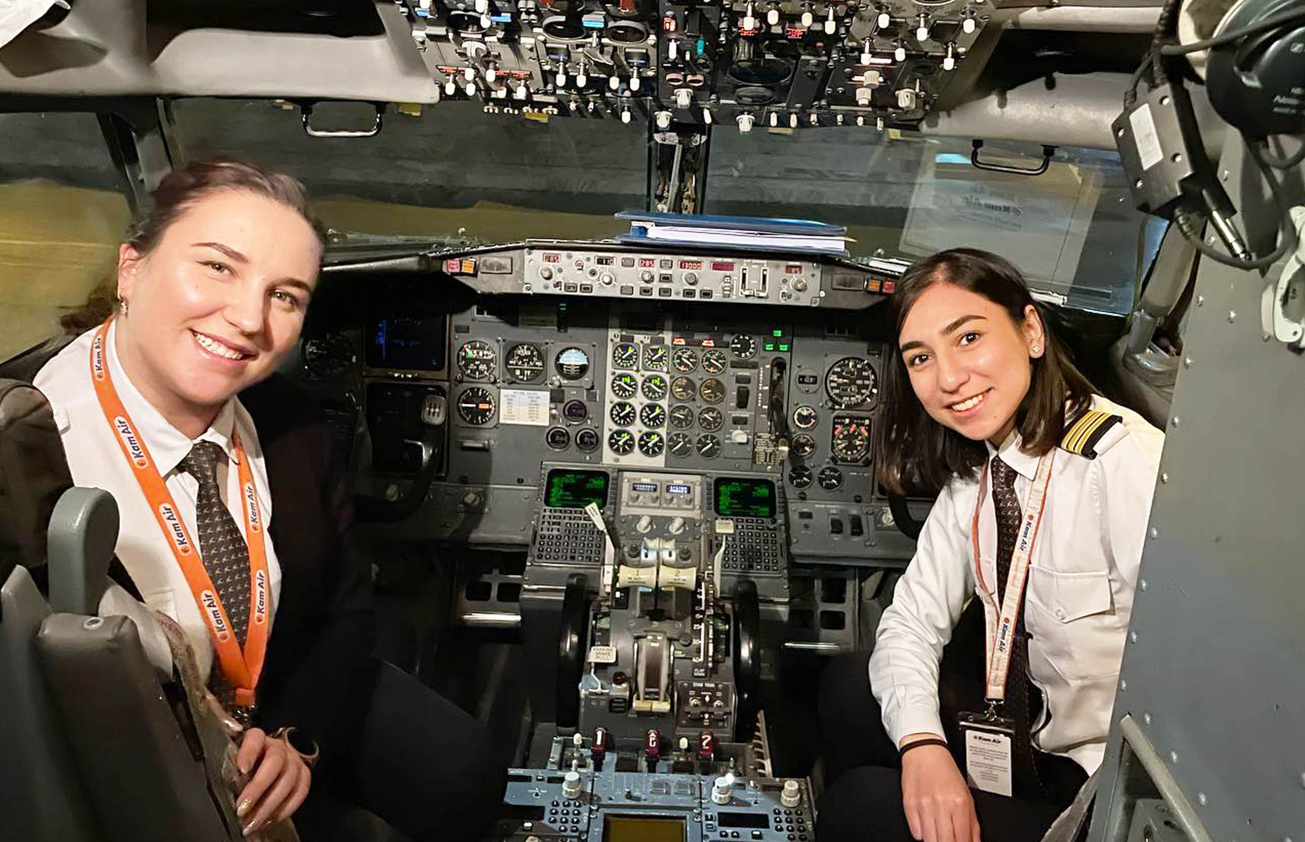 Airworks Graduate Joins Kam Air All Female Flight Crew
